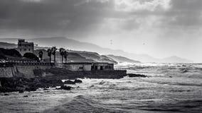 多暴风雨的天气在阿尔盖罗 免版税库存照片