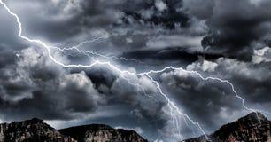 多暴风雨的天气 图库摄影