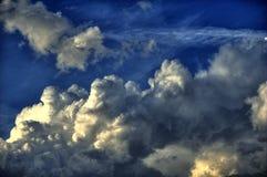 多暴风雨的天气HDR 库存图片