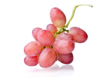 水多束的葡萄 免版税库存照片
