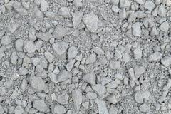 多灰尘和肮脏的灰色石头和沙子样式 免版税库存照片
