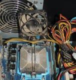多灰尘的CPU 免版税图库摄影