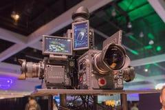 多照相机360 VR系统 库存照片