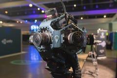 多照相机360 VR系统 免版税库存图片