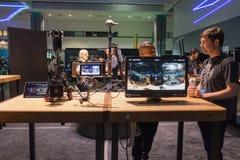 多照相机360 VR系统 免版税图库摄影