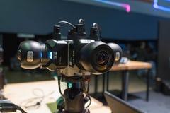多照相机360 VR系统 图库摄影