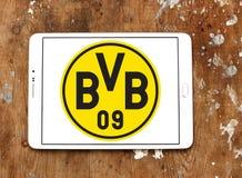 多特蒙德足球俱乐部, BVB橄榄球俱乐部商标 免版税图库摄影