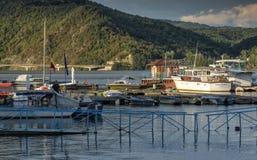 多瑙河口岸 库存照片