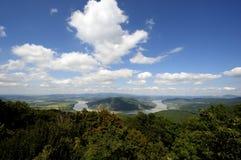 多瑙河在匈牙利 免版税库存图片