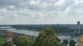 多瑙河在布拉索夫 股票视频