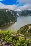 多瑙河峡谷 图库摄影