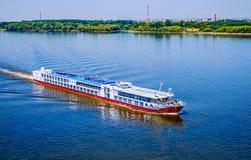 多瑙河游轮 库存照片
