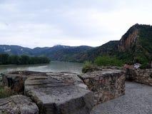 多瑙河畔克雷姆斯 库存图片