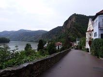 多瑙河畔克雷姆斯 免版税库存照片