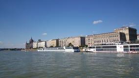 从多瑙河的看法 库存图片