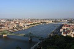 多瑙河的美丽的布达佩斯 免版税库存照片