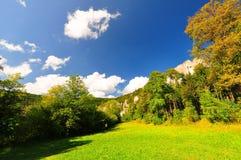 多瑙河较大谷 库存照片