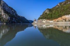 多瑙河,罗马尼亚 免版税库存图片