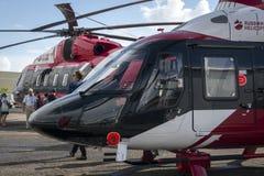 多用途轻的直升机Ansat 库存图片