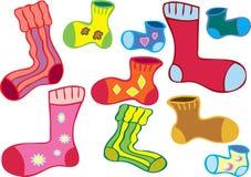 多的只袜子 图库摄影