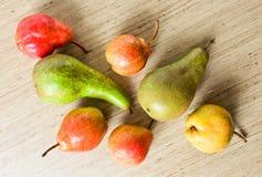 水多的成熟梨 免版税库存照片