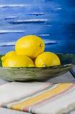 水多的柠檬色的金黄阳光 免版税图库摄影