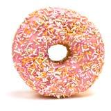 多福饼冰了粉红色 免版税库存照片