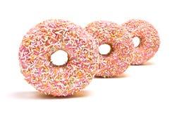 多福饼冰了粉红色 库存图片