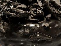多福饼巧克力顶部 图库摄影