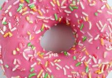 多福饼桃红色的纹理 免版税库存图片