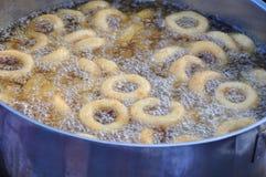 多福饼煮沸 免版税图库摄影