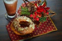 多福饼甜点 免版税库存图片