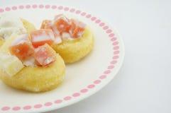 多福饼用薯类 免版税库存照片
