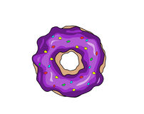 多福饼的例证 库存图片