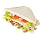 多种健康成份三明治 免版税库存照片