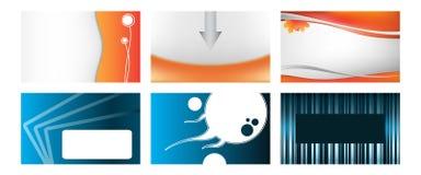 多种名片 免版税图库摄影