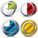 多种定时器 免版税库存照片