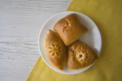 多种小圆面包 免版税库存图片