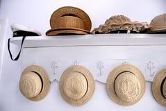多种帽子 库存图片