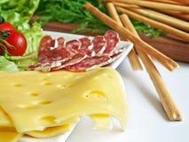 多种开胃菜种类 图库摄影
