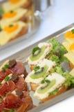 多种开胃菜 免版税图库摄影