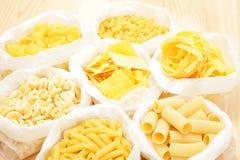 多种意大利面食 免版税库存图片