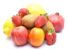 多种新鲜水果 图库摄影