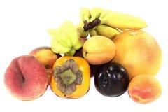 多种新鲜水果 免版税库存照片