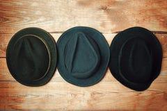 多种方式帽子 库存图片