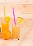 多种汁液 免版税库存图片