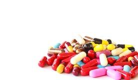 多种药片 免版税库存图片