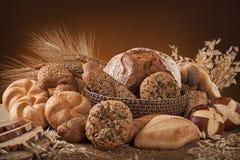 多种面包 库存图片