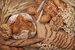 多种面包 免版税库存图片