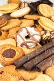 多种饼干 库存照片